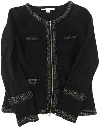 Diane von Furstenberg Black Wool Knitwear for Women