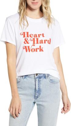 Sub Urban Riot Sub_Urban Riot Heart & Hard Work Tee