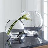 Crate & Barrel Samara Glass Vases