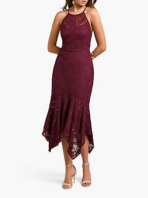 Forever New Shakira Lace Midi Dress, Enchanted