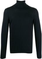 BOSS turtleneck fine knit jumper
