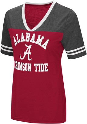 NCAA Unbranded Women's University of Alabama Crimson Tide Cowboy Trail Tee