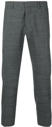 Ami Cropped Slim-Fit Trousers