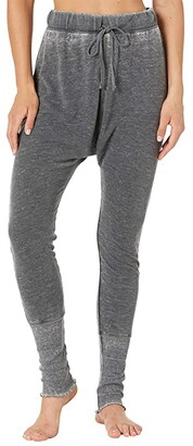 Free People Cozy All Day Harem Leggings (Washed Black) Women's Pajama