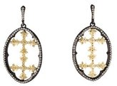 Armenta Sombrero Open Diamond Drop Earrings