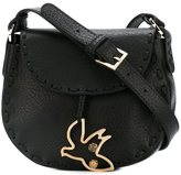 RED Valentino bird charm crossbody bag