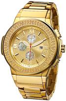 JBW Goldtone Saxon Chronograph Watch - Men