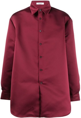 Valentino Longsleeved Button Up Shirt