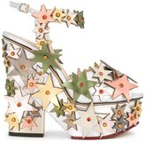 Charlotte Olympia 'Supernova' sandals - women - Leather - 39
