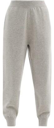 Extreme Cashmere No. 56 Yogi Stretch-cashmere Track Pants - Grey