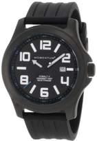 Momentum Men's 1M-SP06B1B Cobalt V Black Ribbed Rubber Watch