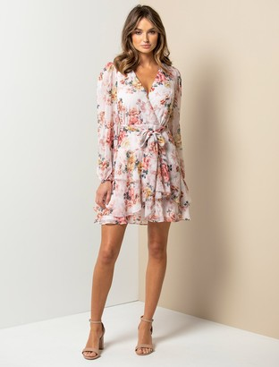 Forever New Rachel Floral Skater Dress - Roses of Versailles - 4