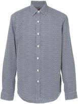 Michael Kors speckled long sleeved shirt