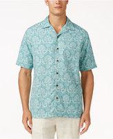 Tasso Elba Men's Medallion Batik Shirt, Only at Macy's