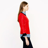 J.Crew Scattered sequin sweater