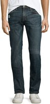 Frame L'Homme Straight-Leg Distressed Jeans, Davis