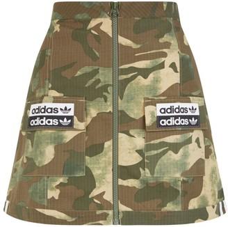 adidas Camouflage Skirt