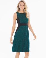 Soma Intimates Sleeveless A-line Short Dress Splendor Deep Teal
