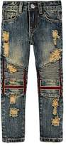 Haus of JR Titan Rowland Distressed Biker Jeans