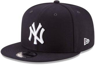 New Era Men's Navy New York Yankees Team Color 9FIFTY Snapback Hat
