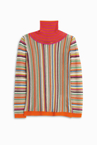 Missoni Mesh Stripe Turtle Neck
