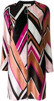 Emilio Pucci multi-print fitted dress