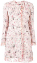 Tagliatore frayed edge tweed jacket - women - Cotton/Acrylic/Polyamide/Viscose - 40