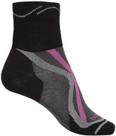 Lorpen Tri-Layer Ultralight Trail Running Socks - TENCEL®-CoolMax®, Quarter Crew (For Women)