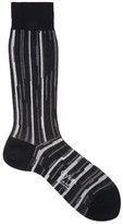 Ayame X Agi & Sam Striped Cotton Blend Socks