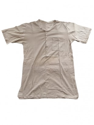 Golden Goose Camel Cotton T-shirts