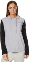 Hurley Sterling Hooded Long Sleeve T Shirt Grey