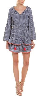 1st Sight Ruffle A-Line Dress