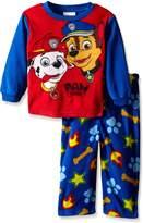 """Nickelodeon Paw Patrol Little Boys' Toddler """"Pups at Work"""" 2-Piece Pajamas"""