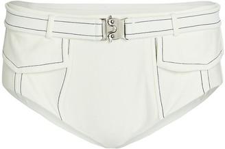 Devon Windsor Harley Belted Bikini Bottoms