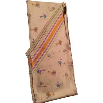 Louis Vuitton Ecru Silk Scarves