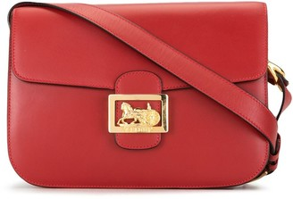 Céline Pre-Owned Pre-Owned Horse Carriage Plaque Crossbody Bag