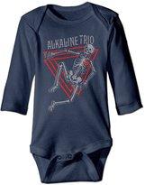Leujtrtui Alkaline Trio Matt Skiba Dan Andriano Baby Onesie Longsleeve Toddler Clothes Bodysuit