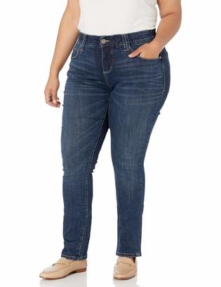 Jag Jeans Women's Plus Size Ruby Straight Jean