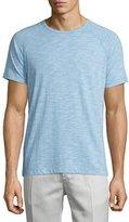 Theory Dustyn Ocean Slub Raglan T-Shirt, Light Blue