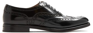 Church's Burwood Leather Brogues - Womens - Black