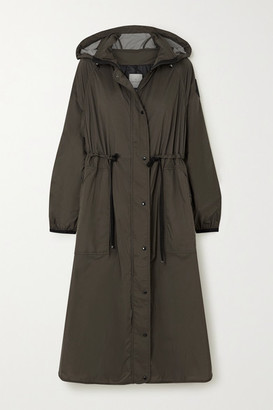 Moncler Hooded Shell Raincoat - Green