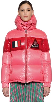 Moncler GARY NYLON LAQUE DOWN JACKET