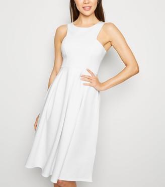 New Look Scuba Midi Prom Dress