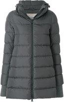 Herno padded long line jacket