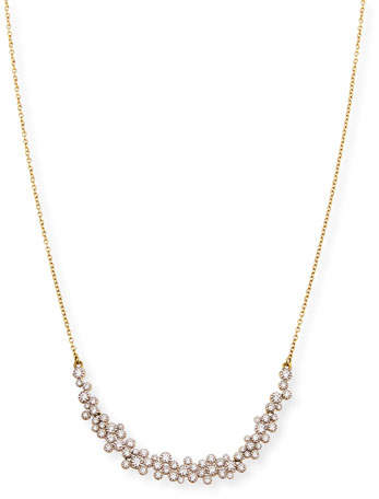 Jude Frances Provence 18k Diamond-Bezel Necklace