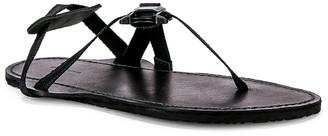 Hender Scheme Device Strap Sandal in Black   FWRD