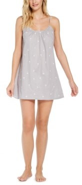 Jenni Cotton Chemise Nightgown, Created for Macy's