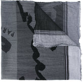 Kenzo printed scarf - men - Cotton - One Size