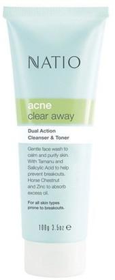 Natio Acne Dual Action Cleanser & Toner