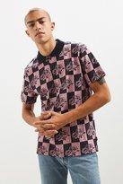 Stussy Rose Blocked Jacquard Polo Shirt